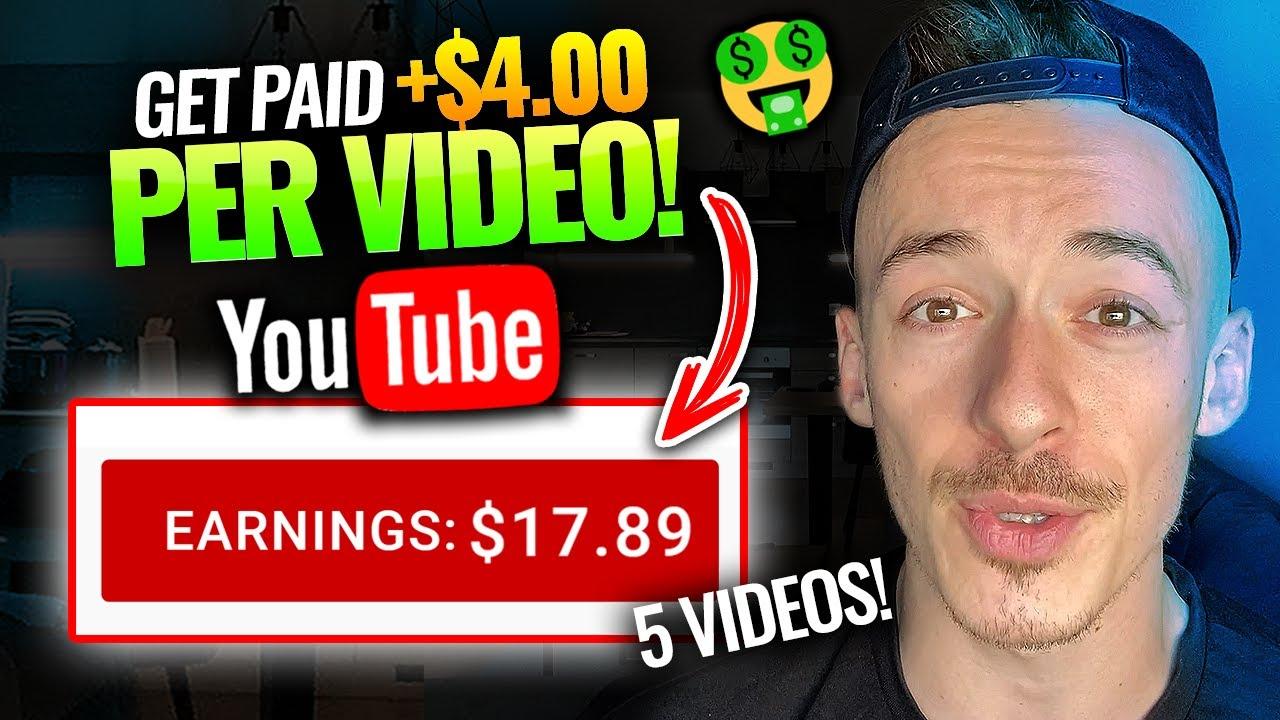 Earn $200+ Watching YOUTUBE Videos! ($4+ Per Video!) | Make Money Watching Youtube Worldwide