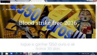 HACK DE OURO, FUNCIONA MESMO? - BLOOD STRIKE