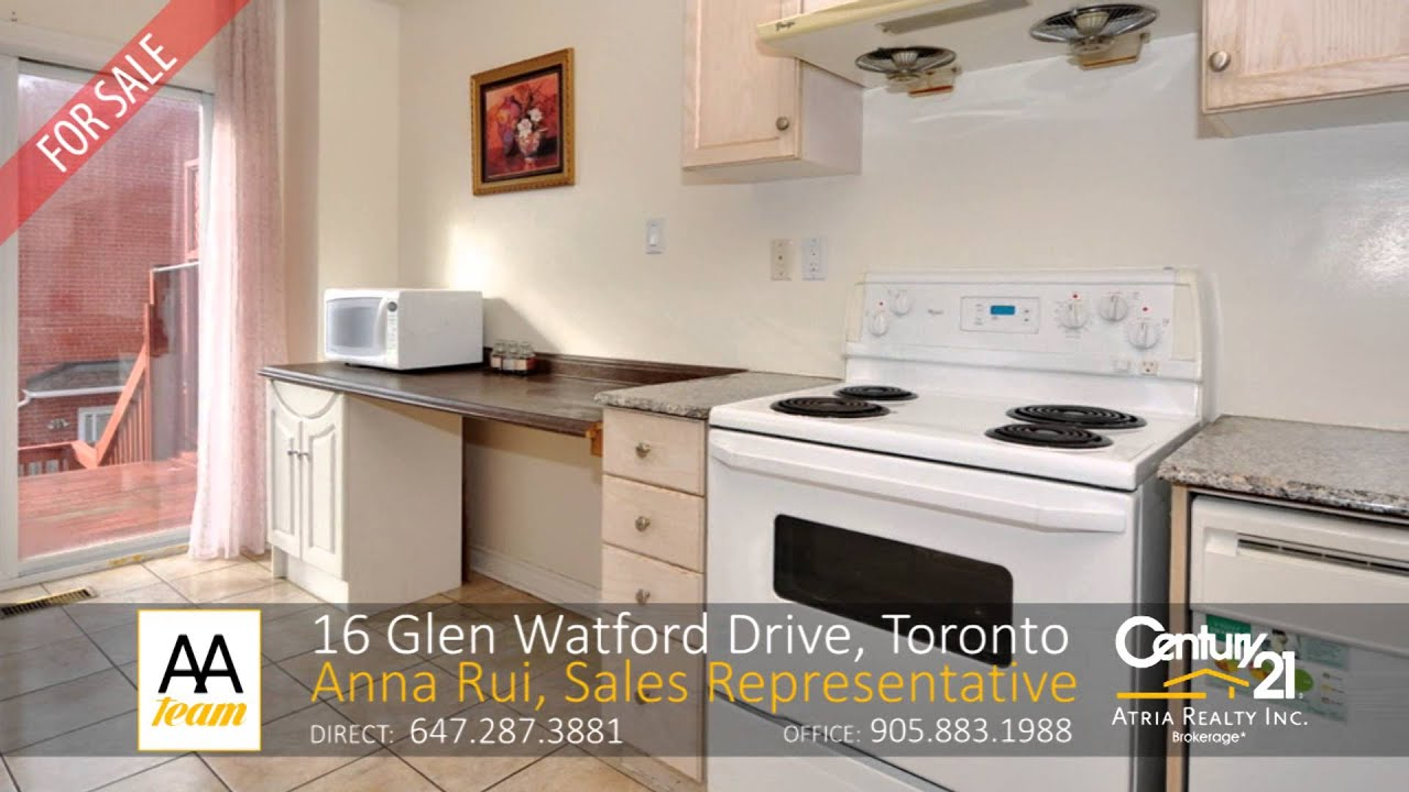 16 glen watford drive toronto home for sale by the aa team sales representatives