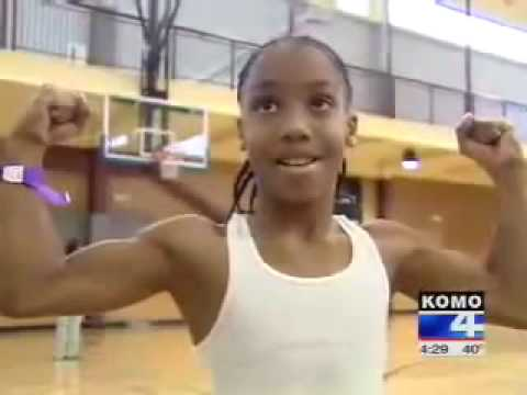 Amazing 11 year Old Basketball Player