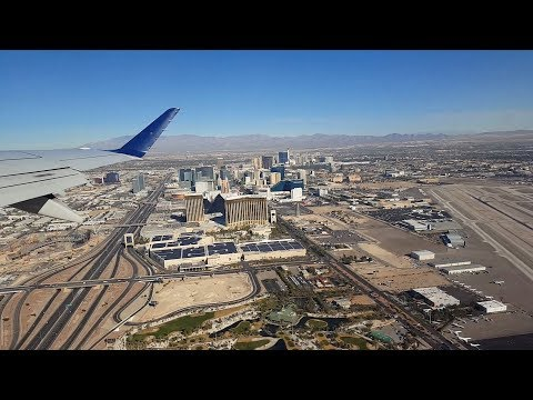 Flying from Las Vegas, NV, to San Diego, CA (View of The Strip) | December 2018