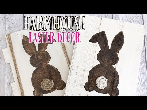 DOLLAR TREE DIY | EASTER FARMHOUSE DECOR | DOLLAR TREE IDEAS