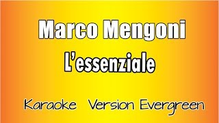 Download lagu Marco Mengoni  - L' essenziale (versione Karaoke Academy Italia)