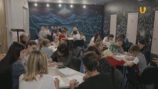 Новости UTV. Мастер-класс от актрисы театра и кино Ларисы Барановой.