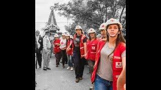 Saludo a los Voluntarios de Cruz Roja