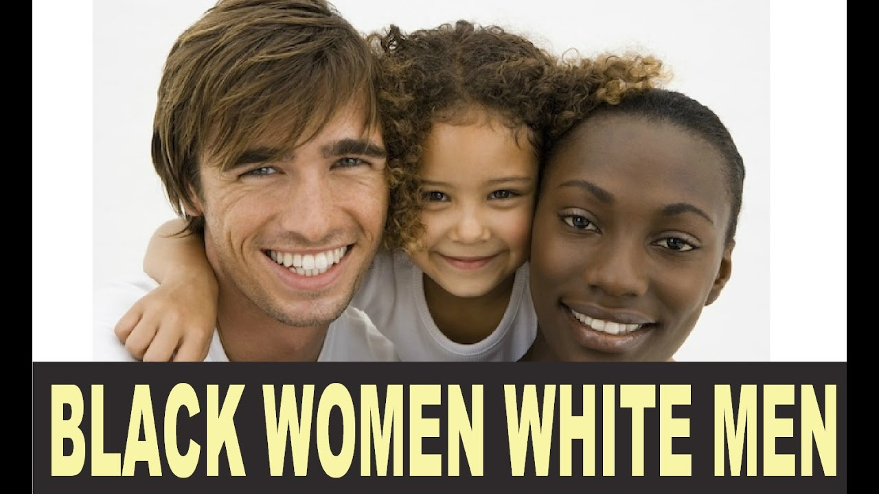 Black women want to date white men