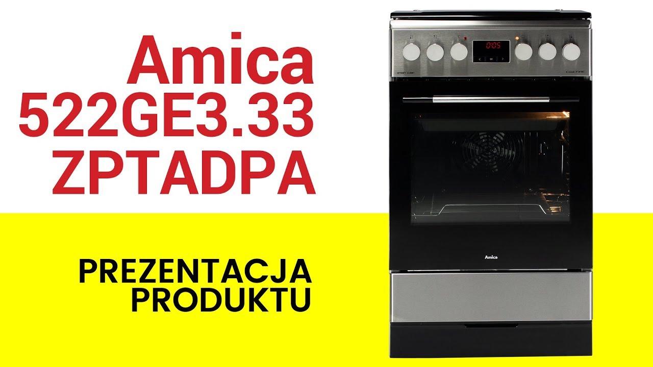 Kuchnia Amica 522ge333zptadpaxx