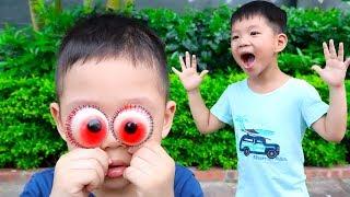 100% Kẹo Dẻo Trái Cây Trolli Hình Con Mắt ❤ ABC ❤