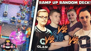 EPISCHES 4er BATTLE! | Random Deck Ramp Up Challenge! | Völlig verrückte Games!