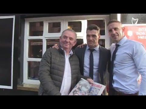 VIDEO: Dublin team keep the party going in Boar's Head pub