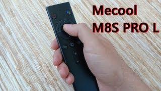 Mecool M8S PRO L огляд приставки з голосовим управлінням на Android TV