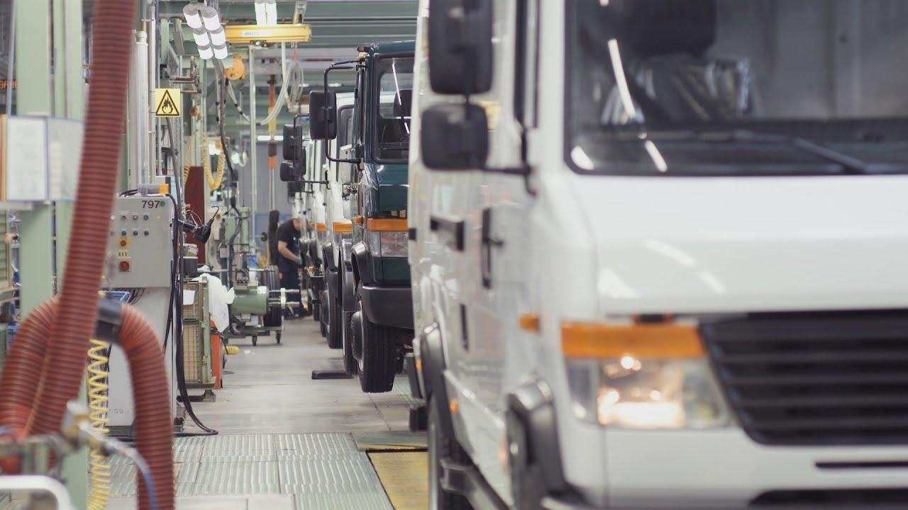 Mercedes-Benz Vario Heavy Van Production