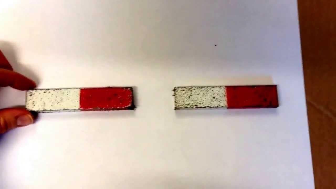Två magneter