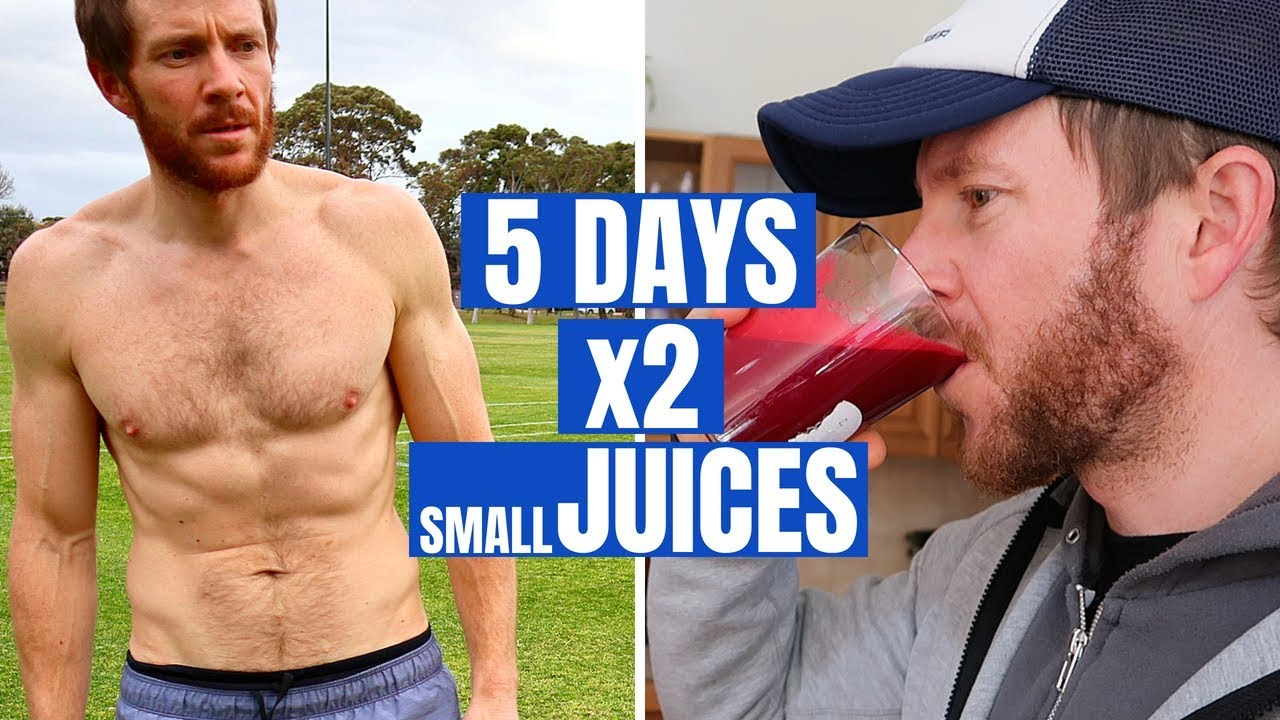 my 5 day juice cleanse / fast (inc. before & after)