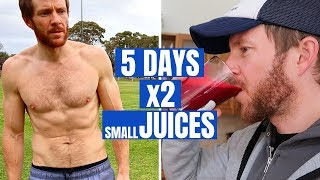 My 5 Day Juice Cleanse / Fast (Inc. Before u0026 After)