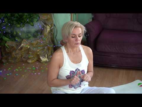 Йога - домашние упражнения   Московское долголетие