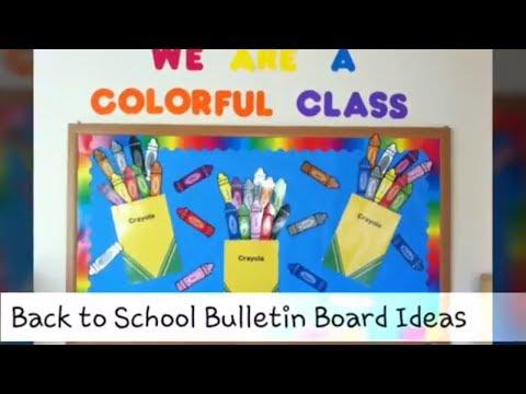 Fun And Creative Back To School Bulletin Board Ideas