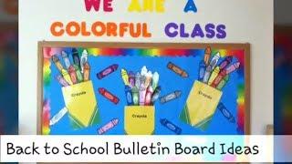 27+ Fun and Creative Back to School Bulletin Board Ideas