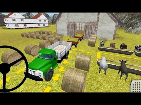 Classic Farm Truck 3D Feed Transport - Android Gameplay FHD