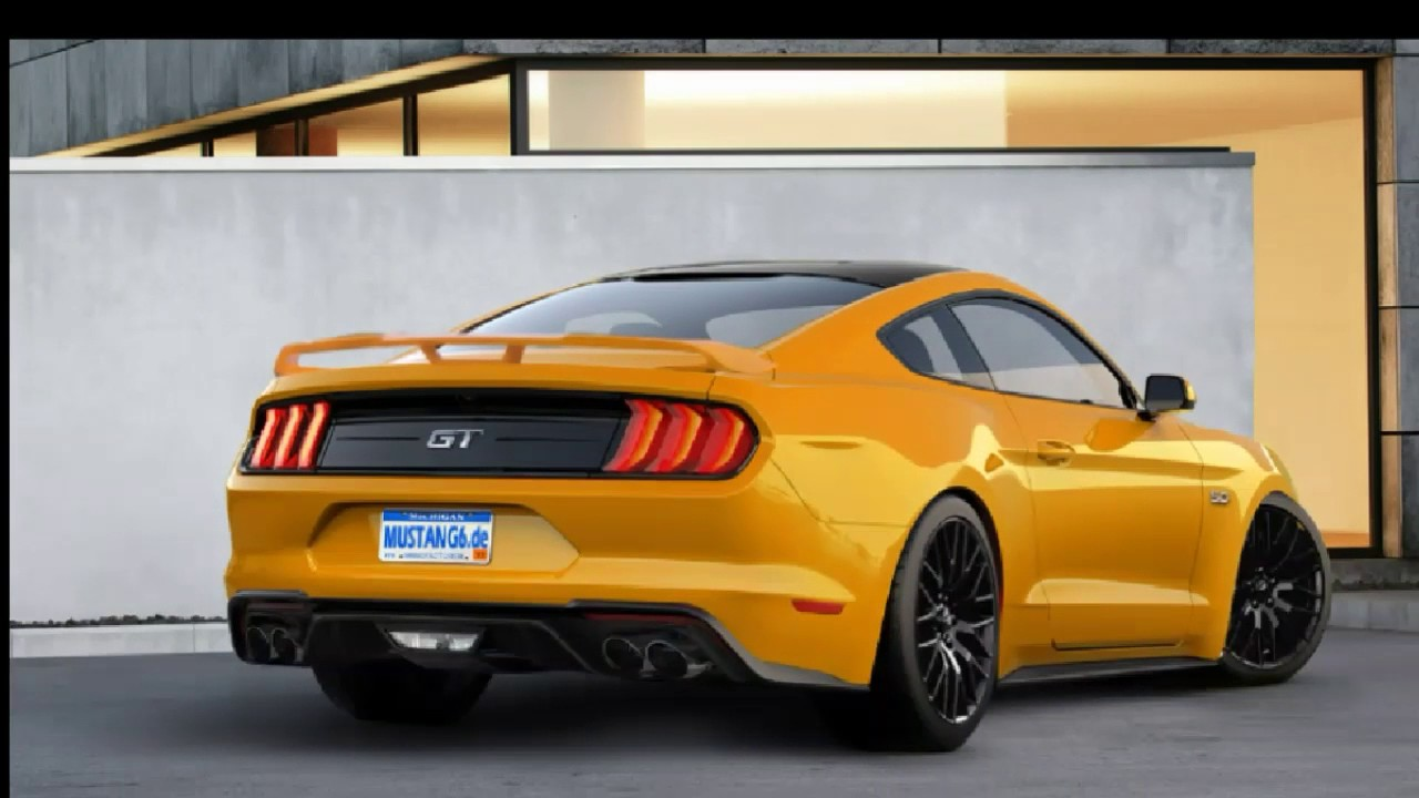 2018 mustang gt black vs orange fury