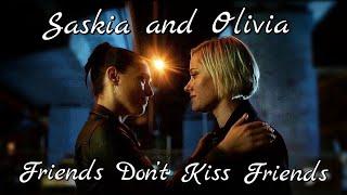 Saskia and Olivia  Friends Dont Kiss Friends  Secret Bridesmaids Business