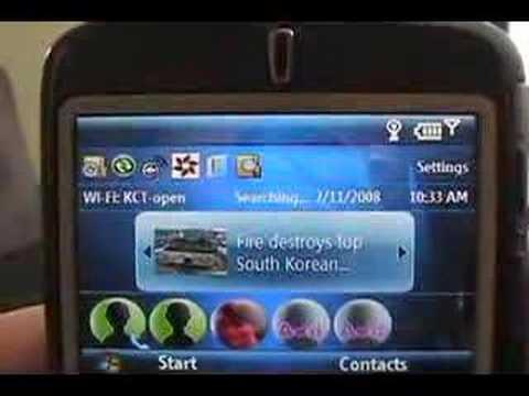 MSN Direct On Windows Mobile