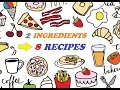 2 Ingredients Recipes Videos Compilation