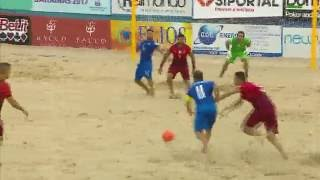 [Highlights] BEACH SOCCER / EUROLEAGUE SUPERFINAL: ITALIA-PORTOGALLO 4-5