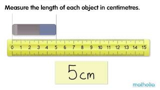 Measuring Length in Centimetres