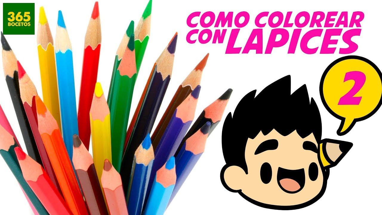 COMO COLOREAR CON LAPICES DE COLORES - tips para pintar con colores ...