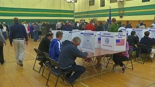 Contested races, contentious issues draw voters