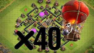 woow !!!  can level 5 balloon destroy th8 defence  attack[2]