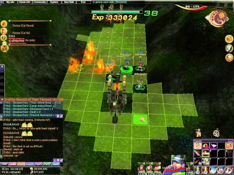 "Atlantica Online TBS mission ""Spy Hunt"", solo run in squad mode with musician main"