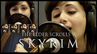The Dragonborn Comes Skyrim Bard Song Vocal and Celtic Harp Cover.mp3