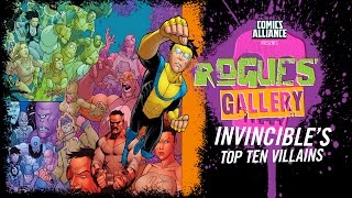 10 Greatest Invincible Villains - Rogues' Gallery
