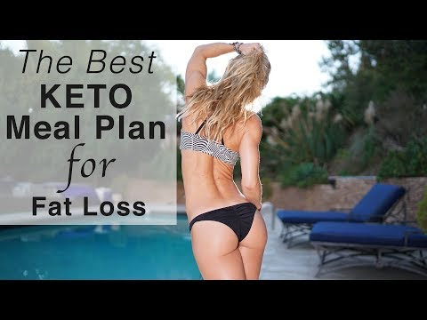 The Best Keto Meal Plan for Fat Loss !!