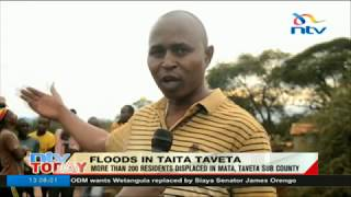 Video More than 200 residents displaced in Mata, Taveta sub county due to floods download MP3, 3GP, MP4, WEBM, AVI, FLV Oktober 2018