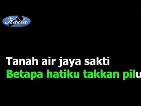 Ismail Marzuki - Lagu Gugur Bunga (Versi Karaoke + Lirik Tanpa Suara)