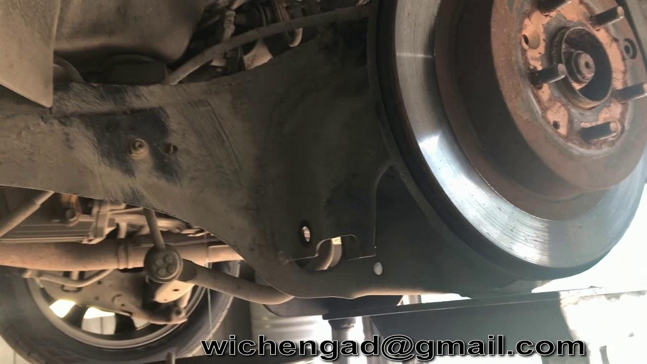 Замена сальника привода мазда 5 Замена сайлентблока нижнего рычага рендж ровер