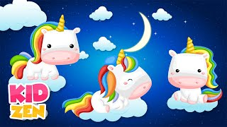 10 HOURS of Relaxing Baby Sleep Music: The Unicorn Tale 🦄 Lullaby for Babies to go to Sleep