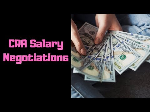 Entry Level CRA Salary Negotiations For Graduate Students