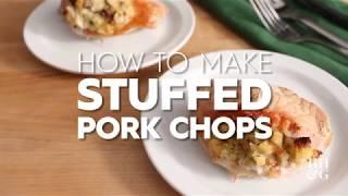 How to Make Stuffed Pork Chops