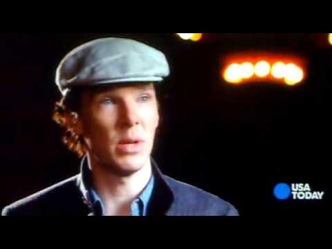 with Benedict Cumberbatch