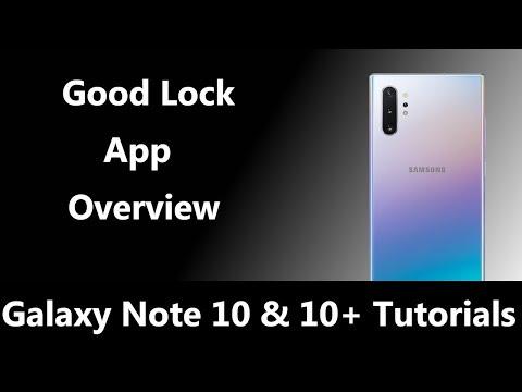 Overview Of Samsung's Good Lock Customization App