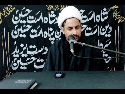 Muharram Speech by Molana Muhammad Qasim Ali jaffary 2015 | Nonar | Narowal | Hussaini League