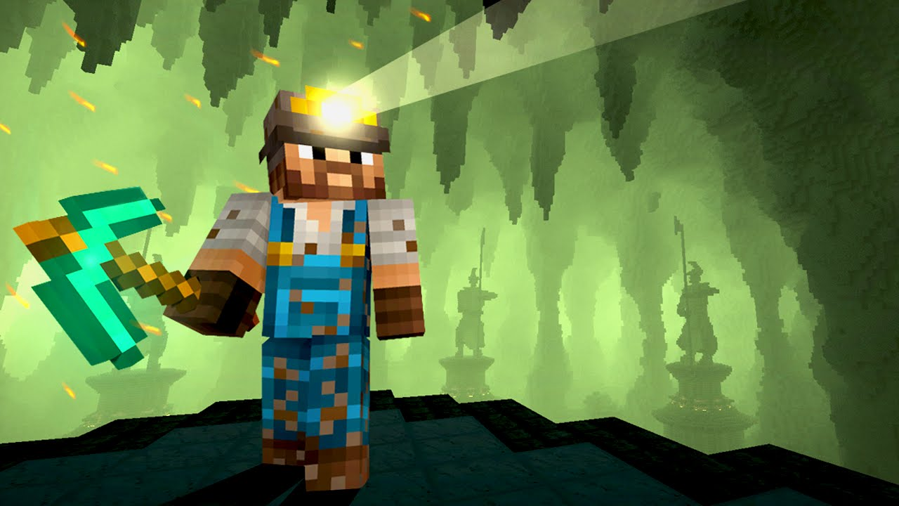 Life of a Miner Minecraft MOVIE  YouTube