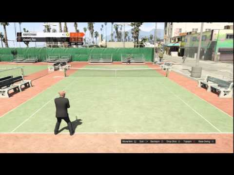 Gta 5 Online Playing Tennis With Friends!