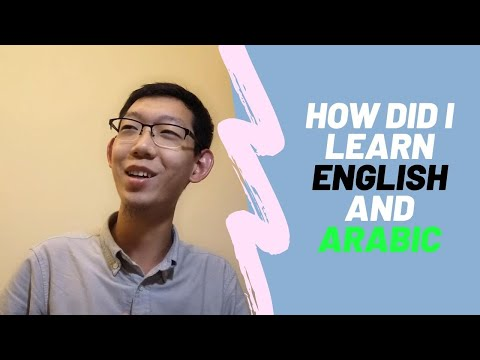 How Did I Learn English And Arabic?