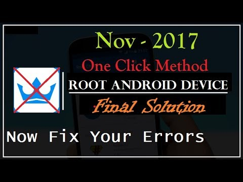 How to Root Any Android Device Easily | Fix Errors | Top 11 Rooting Apps |  Best Solution (Nov-2017)