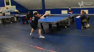 Обоянцев и Фридман. Малое видное по 2008 году и моложе. Турнир по настольному теннису.